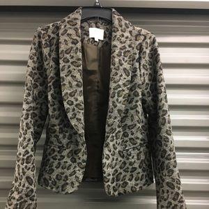 Loft leopard print jacket.